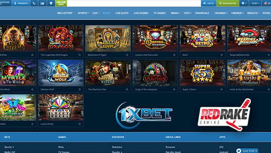 Red Rake Gaming has reached an agreement with 1xBet